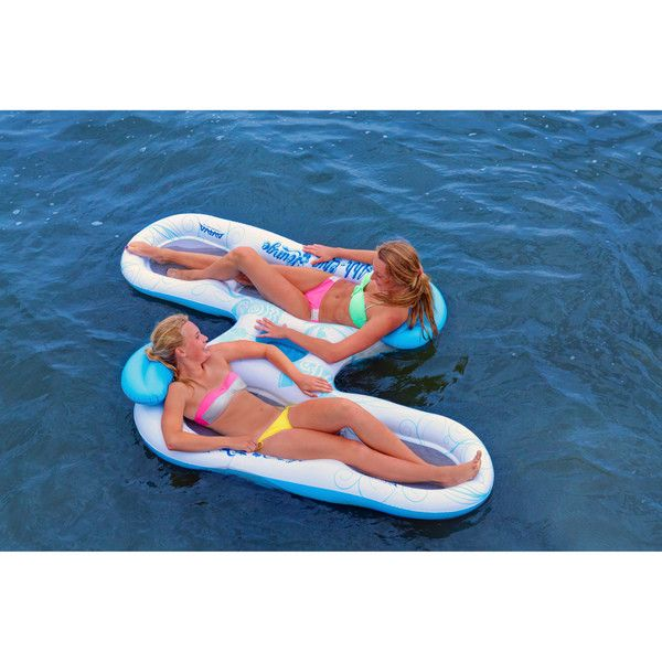 Rave Sports Aviva 1031000 Ahh-qua Lounge 2 Person Group Pool / Lake Float