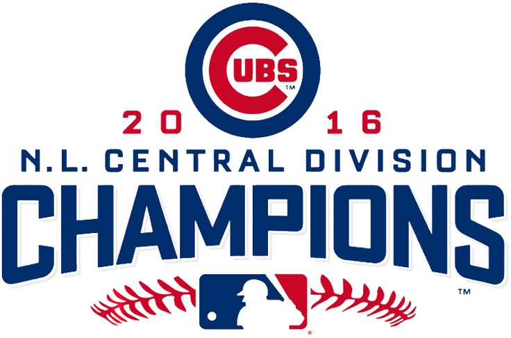 cubs nl central champs | Chicago Cubs Champion Logo - National League (NL) - Chris Creamer's ...