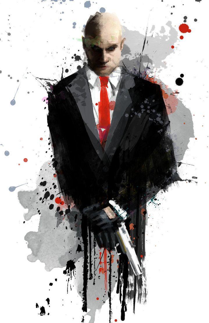 Agent 47 - Hitman - j2Artist.deviantart.com