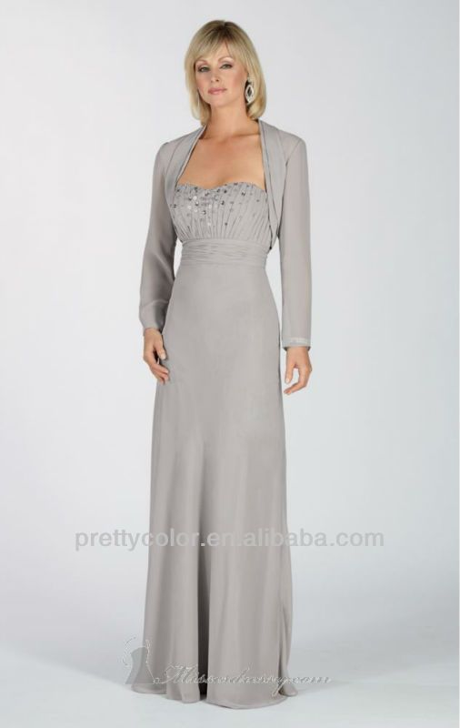 Mother In Law Pant Suits For Weddings Sleeves Floor Length Evening Dresses Of The