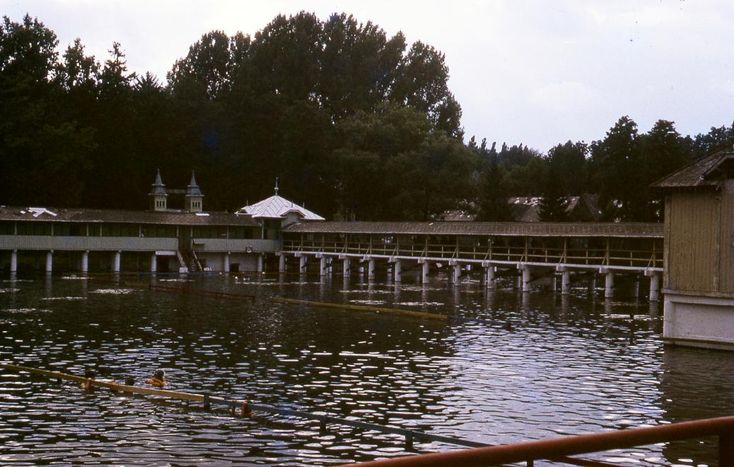 Hévíz Tófürdő 1968