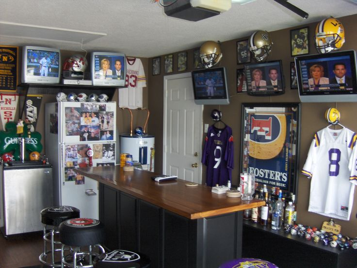 Man Cave Sports Bar Ideas : 20 best bar images on pinterest man caves men cave and basement ideas