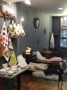 L'échappée douce shop interior