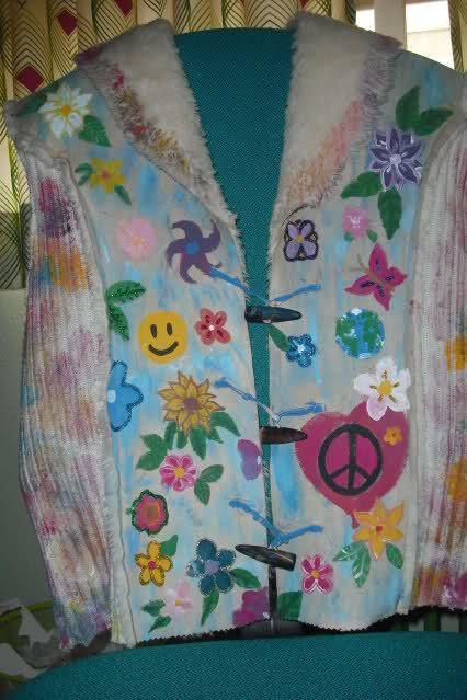 EDITO: Disfraz casero de hippie (fin del traje)