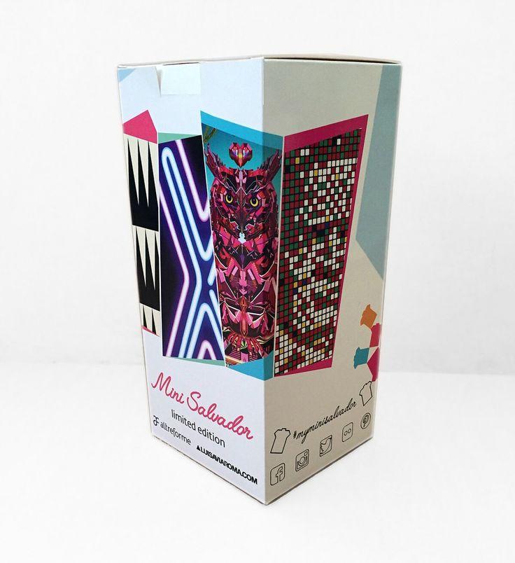 #Minisalvador miniature packaging, design by Elena Cutolo for #altreforme  #altreformeGoesFashion #LuisaviaRoma #interior #home #decor #homedecor #furniture #aluminium #woweffect #madeinItaly