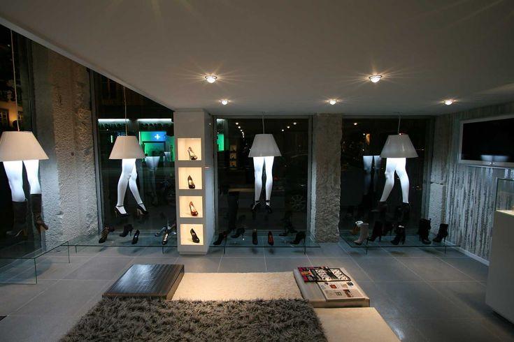 Agencement d\u0027un magasin de chaussures à Lyon Žena Pinterest