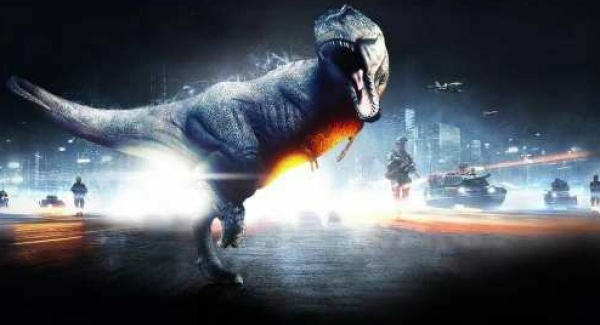 Is everyone getting carried away with the whole dinosaurs mode idea in Battlefield 3