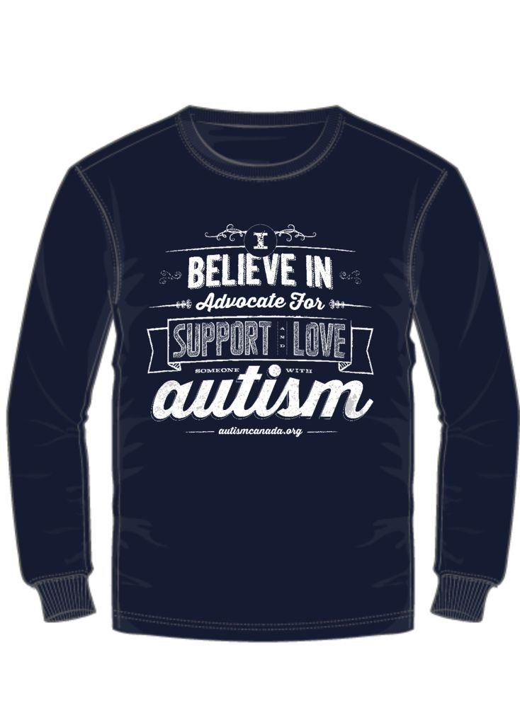 These words give strength and bring hope for the future of loved ones who are affected by autism. Purchase a tshirt and be proud. Spread the cause. $20 - $25