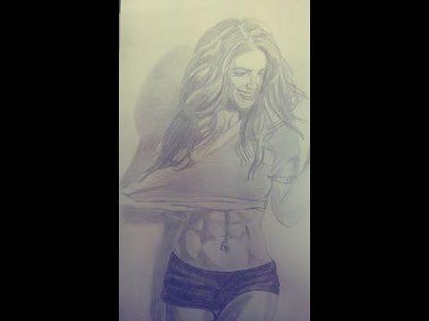 Sketch Barbara de regil