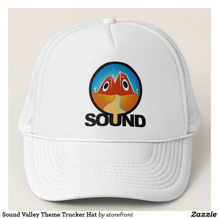 Sound Valley Theme Trucker Hat
