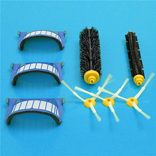 8pcs Replacement Brush Filter Kit for iRobot Roomba 600 Series Vacuum Cleaner Accessories Replacement #Replacement #Brush #Filter #iRobot #Roomba #Series #Vacuum #Cleaner #Accessories