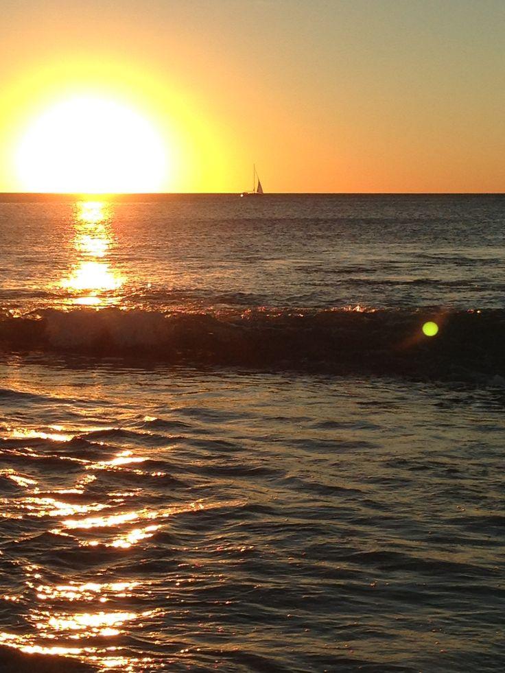 Sunset at Waterman Beach, Perth Western Australia