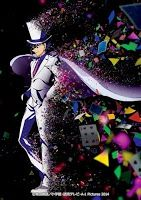 """Magic Kaito 1412 :La historia esta protagonizada por Kaito Kuroba, un estudiante de instituto y aficionado a la magia, cuyo padre murió en circunstancias misteriosas ocho años antes. Ahora, Kaito es consciente de la verdadera identidad de su padre: Un famoso criminal internacional conocido frecuentemente por la policía japonesa como """"Ladrón Fantasma""""."""