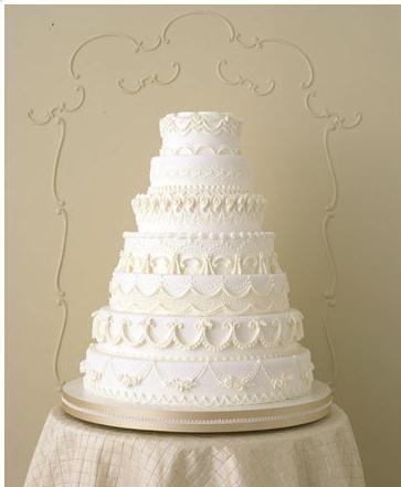 純白のケーキ♡結婚式の白いクラシカルなウェディングケーキまとめ一覧♡