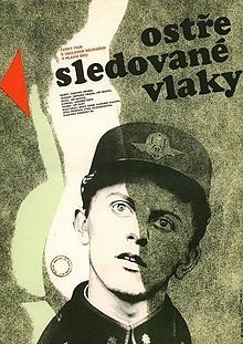 Closelywatchedtrains.jpg #Closely_Watched_Trains (Czech: Ostře sledované vlaky) is a 1966 Czechoslovak film directed by #Jiří_Menzel, and one of the best-known products of the Czechoslovak New Wave.