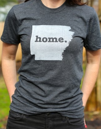Arkansas Home T-Shirt. Feels like it....lol, I've only been to Arkansas once. Raised like it though!