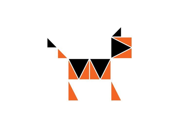 Александра Бондарева / 1 курс / модуль #module #animal #logo #bdinstitute #институтбизнесаидизайна