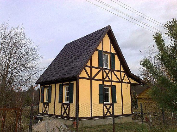 Фасады фахверковых домов фото фото