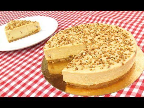 Tarta de Turrón sin Horno! - YouTube