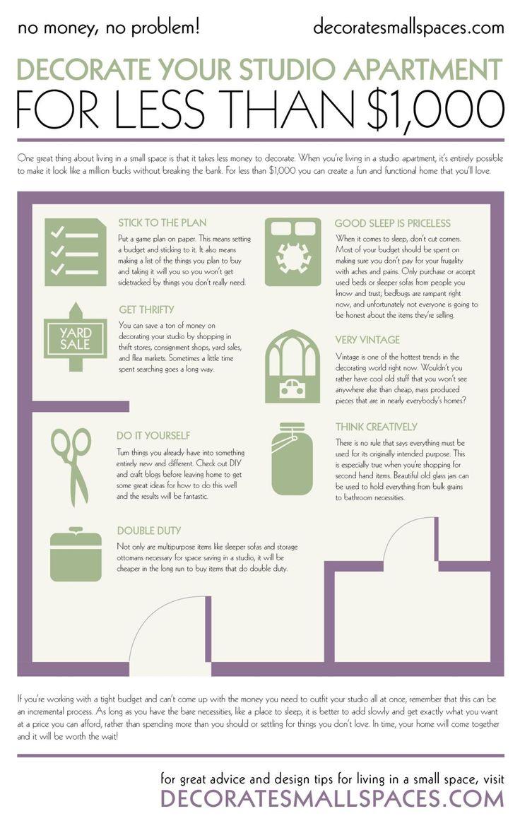 Top 25+ best Decorate studio apartments ideas on Pinterest ...