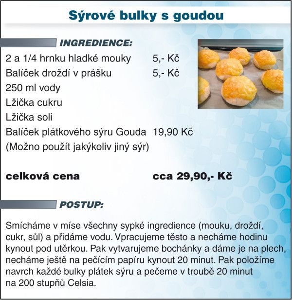 Recept - syrove bulky