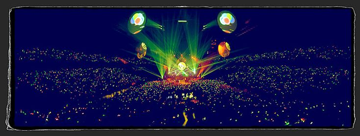 Coldplay at the XFactor Finale...