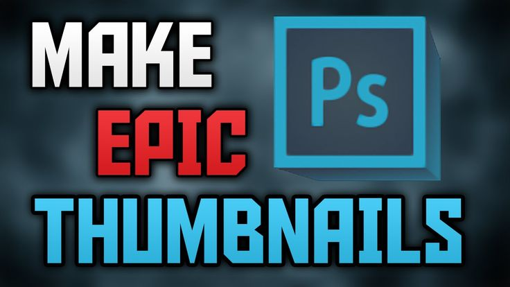 How To Make A Thumbnail For Youtube Videos In Photoshop 2015!