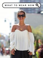 Meet Fashion's New Favorite Show-It-Off Zone #refinery29  http://www.refinery29.com/off-shoulder-outfits