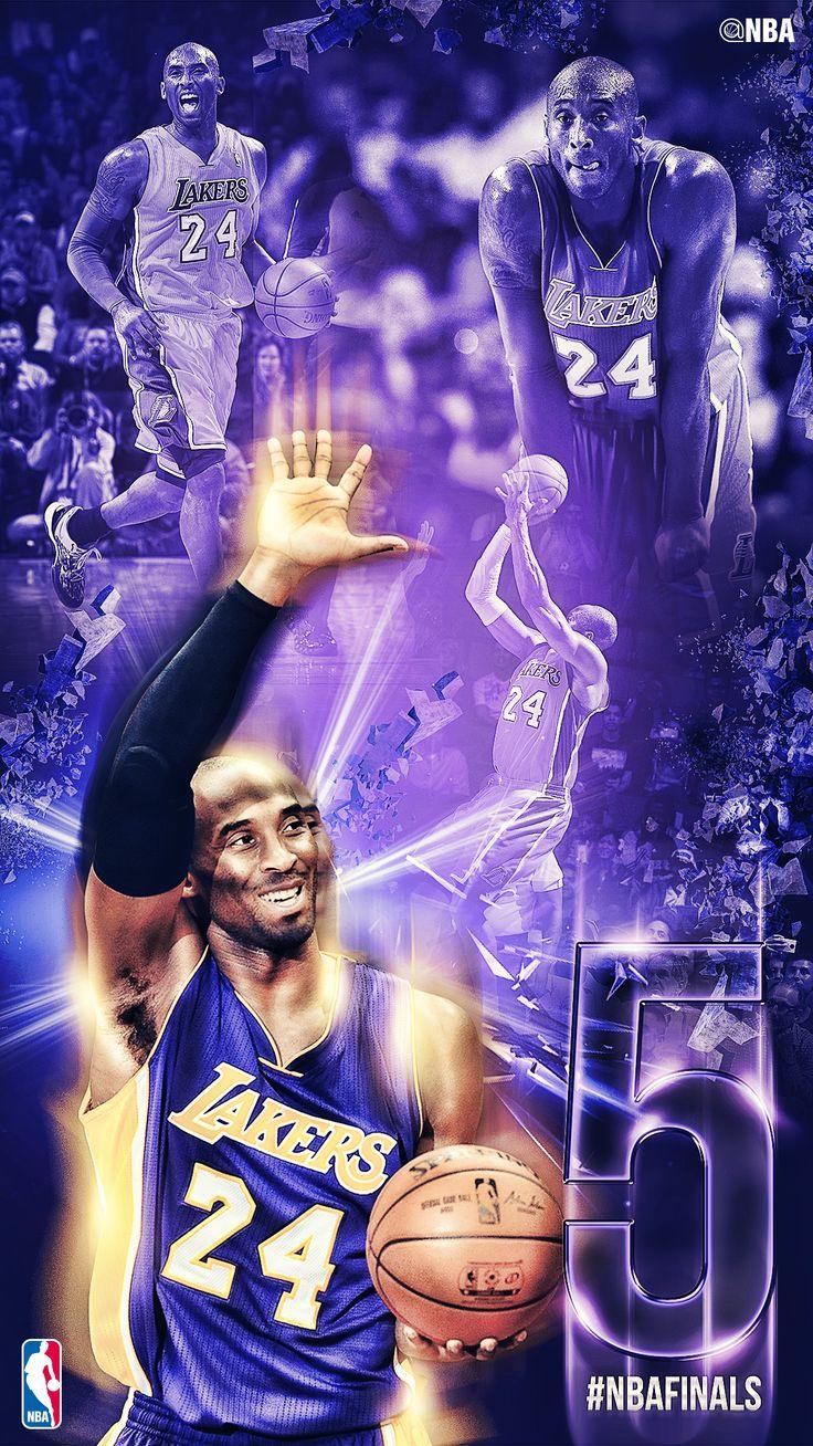 5 Rings. The #BlackMamba Kobe Bryant, LA Lakers. 2015 #NBAFinals