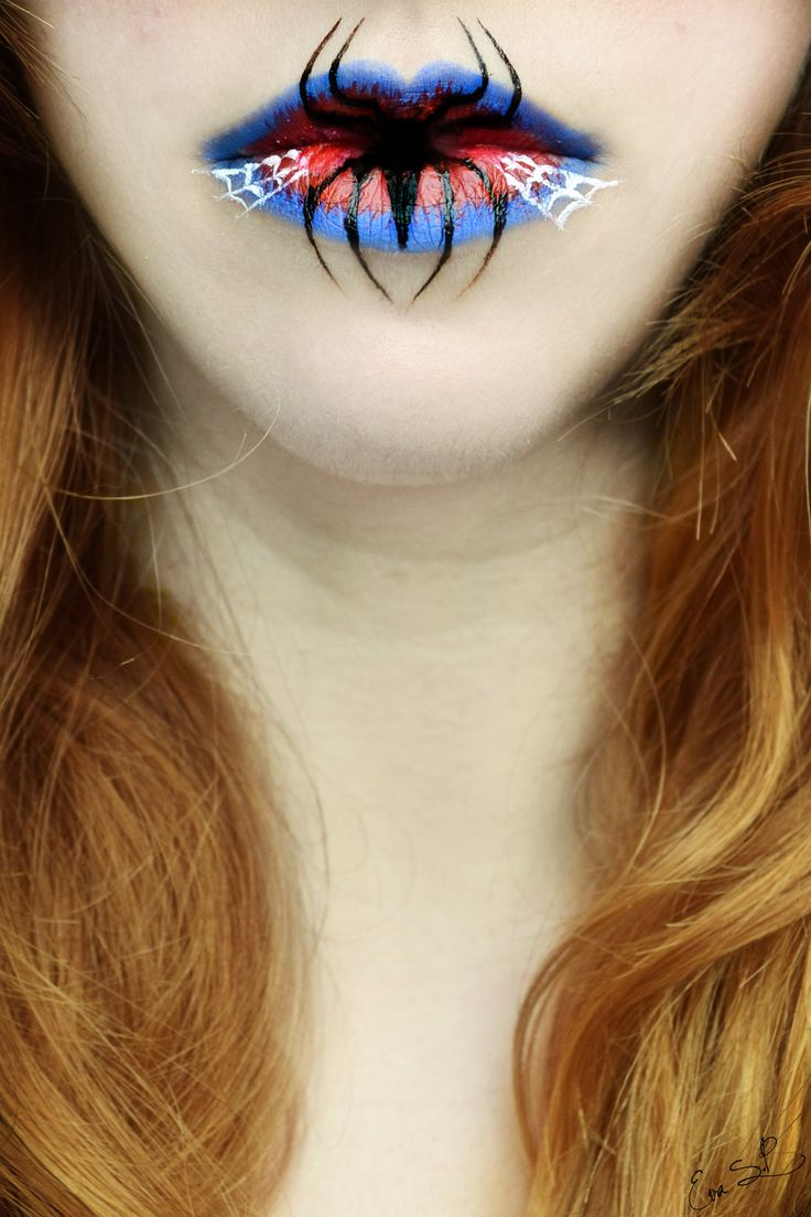 This Makeup Artist Creates Lip Art For Halloween. What's More Impressive Is How She Does It. [MOBILE STORY]