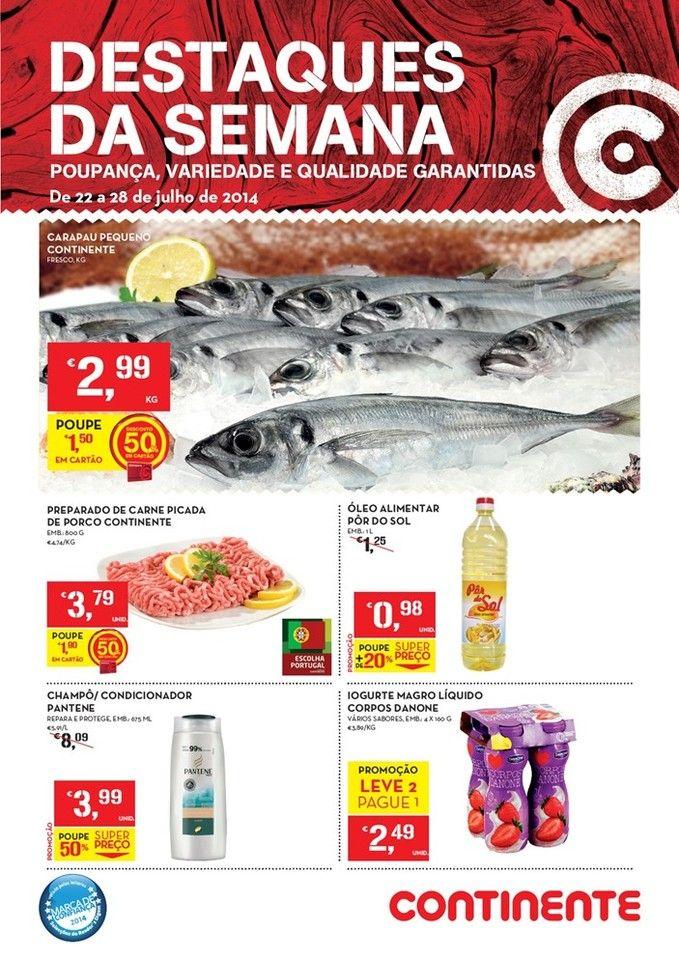 Promoções Folheto Continente Online! - de 22 a 28 de julho