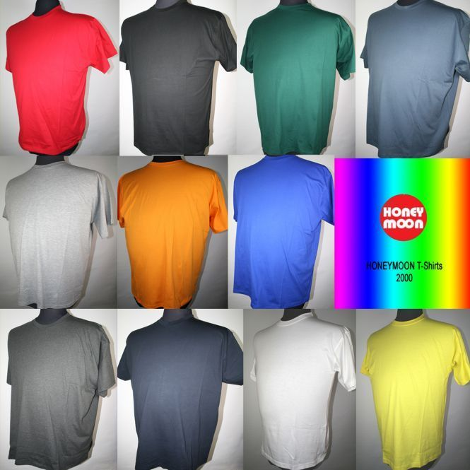 +BIG T-Shirt 2000 O-Neck 9 Farben 3-15XL