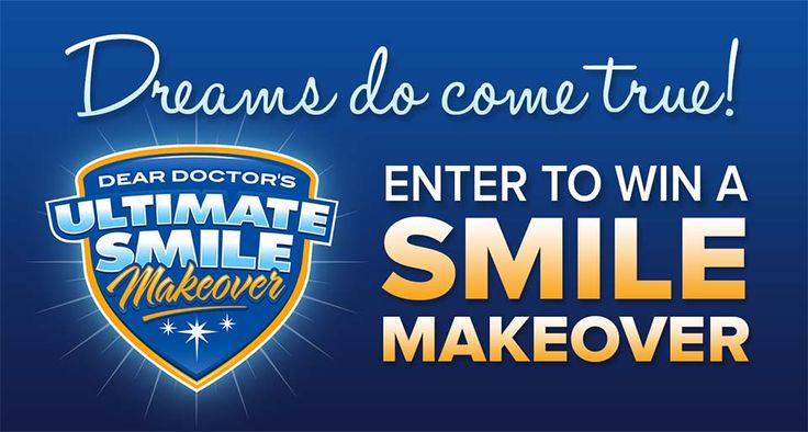 Do you need a new smile makeover? Enter to win the Smile Makeover contest and get all your smile and dentistry needs paid for, up to $35,000!!!