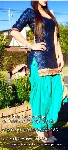 punjabi salwar suit  pinterest - @nivetas visit us at…