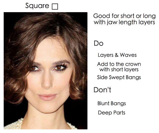 Square Face Shape: 11 Best Images About Square Face Shapes On Pinterest