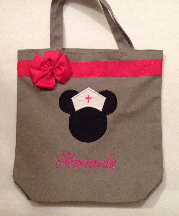 Personalized Tote Bag Personalized Tote Minnie Mouse Tote