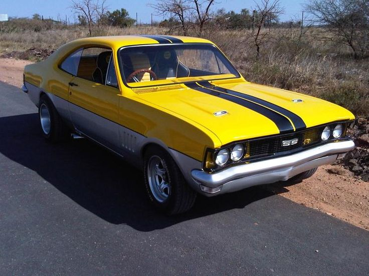 This car is a CHEVROLET SS or a rebadged Holden Monaro ...