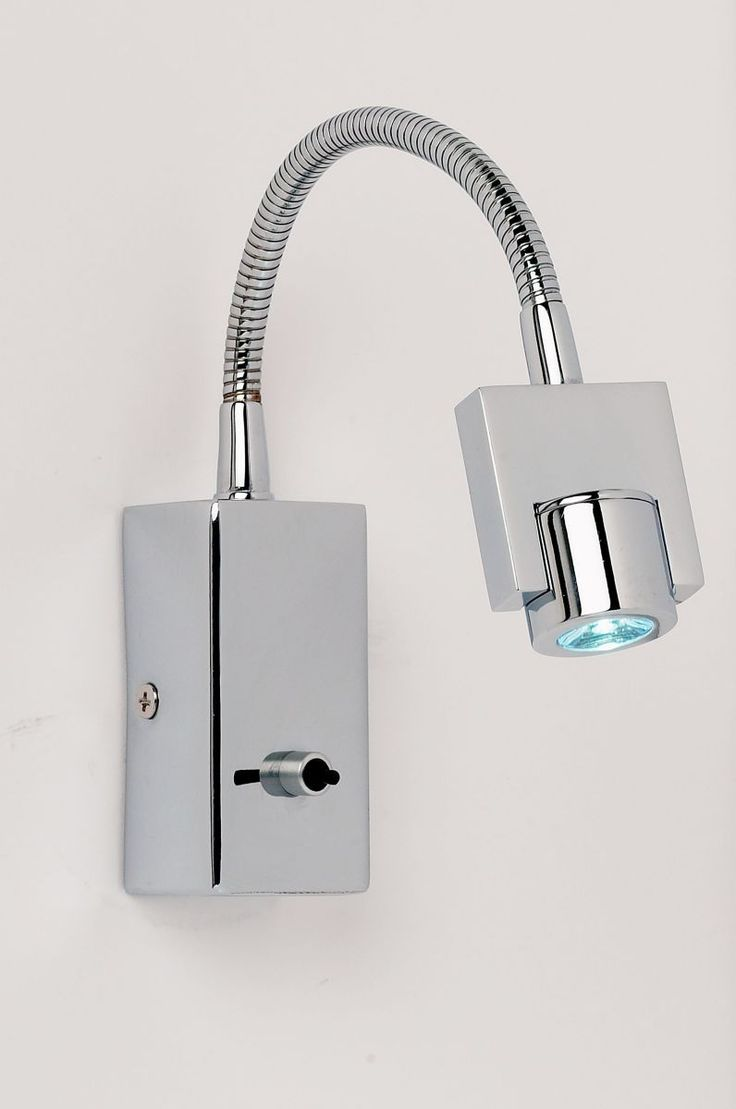 LED Flexible Arm Wall Light - Chrome