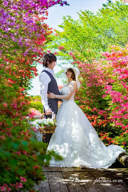 那須の花々に囲まれて…♪