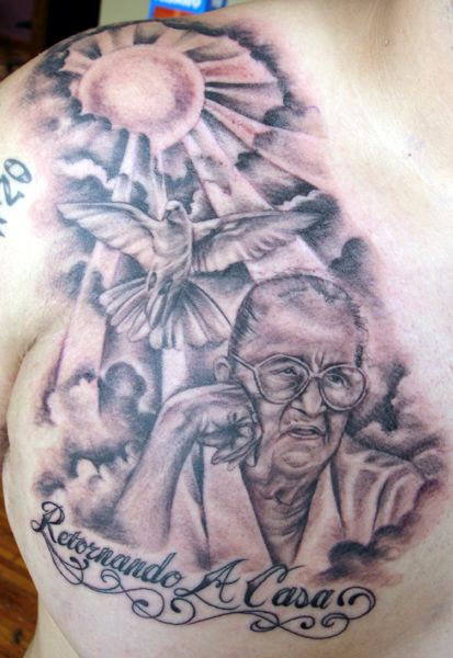 17 best ideas about grandma tattoos on pinterest memory tattoos remembrance tattoos and. Black Bedroom Furniture Sets. Home Design Ideas