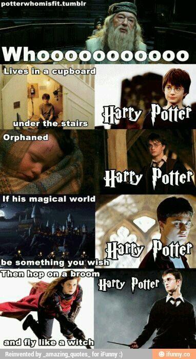 Harry Potter, si tuviera canción como la de Bob Esponja...