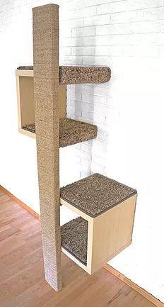 Ein günstiger Designer Kratzbaum! Kratzmöbel mit schönem Design – Katzen