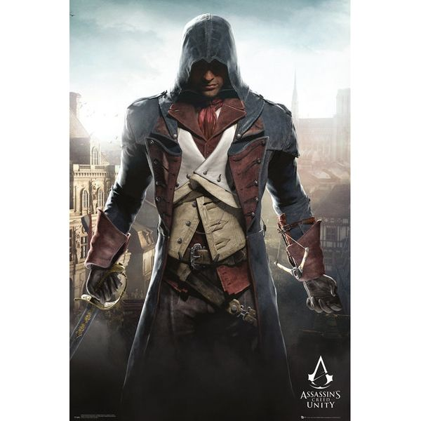 Assassins Creed Unity Cityscape Maxi Poster