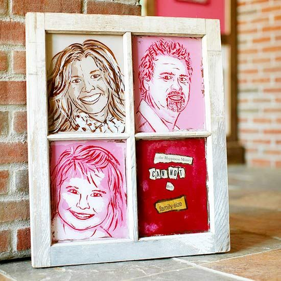 Using just four colors and a few simple steps you can channel your inner Andy Warhol to paint vibrant portraits of your family, friends, and even pets.
