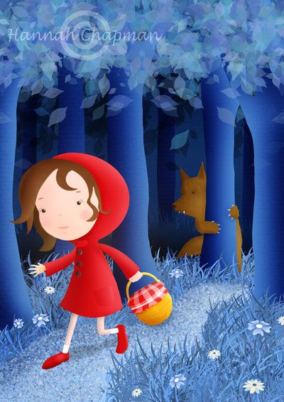 Little Red Riding Hood by HannahChapman.deviantart.com on @deviantART