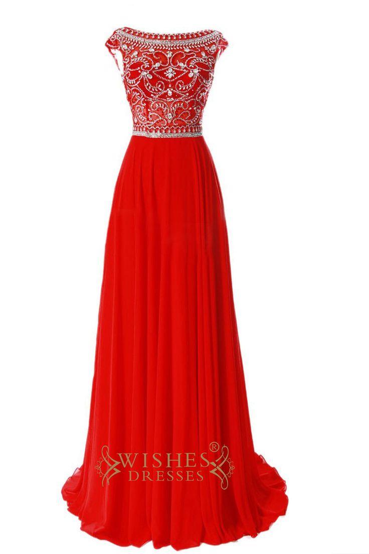 1000  ideas about Red Chiffon Dresses on Pinterest   Orange ...