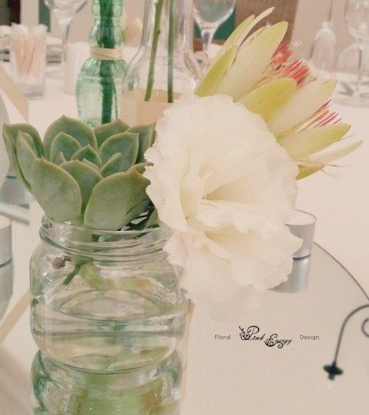 Indiginous bliss at Hertford - Floral Design & Decor  by www.pinkenergyfloraldesign.co.za