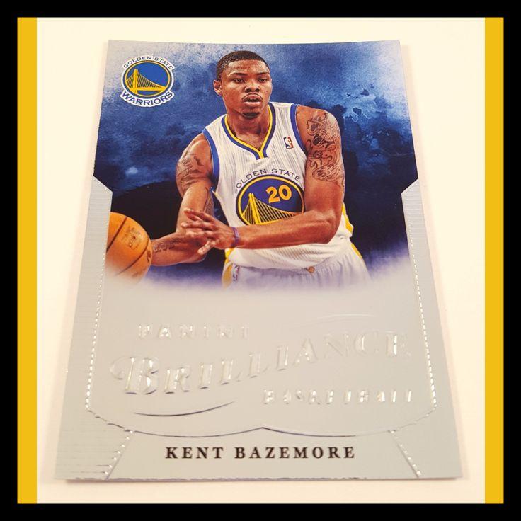 Kent Bazemore Rookie Basketball Card (2012-13 Panini Brilliance)