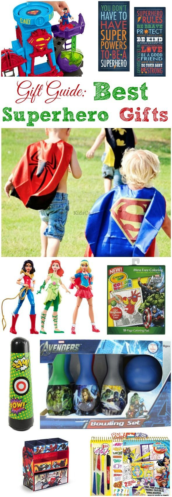Gift Guide Best Superhero Gifts Busy Moms Helper Best Superhero Superhero Gift Card Superhero Teacher Appreciation Gifts