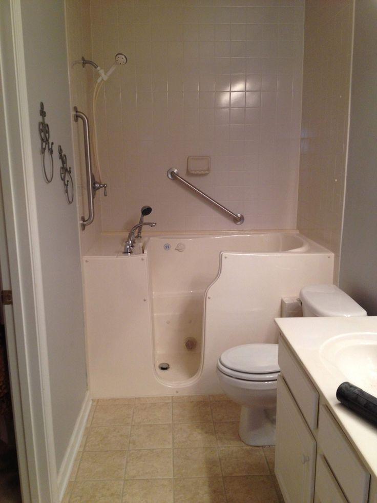 consumer bathtub walk kohler slide in reports elevance combo tub bathtubs reviews shower